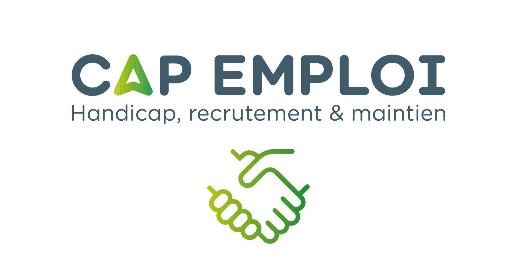 un logo de Cap Emploi